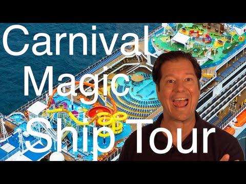 Carnival Magic Review - Full Walkthrough - Cruise Ship Tour