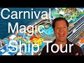 Carnival Magic Review - Full Walkthrough - Cruise Ship Tour - Carnival Cruise Lines