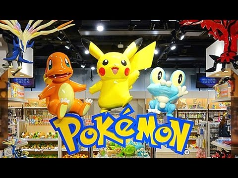 REAL LIFE Pokemon Center in New York!!