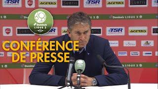 Conférence de presse Valenciennes FC - RC Lens ( 4-2 )  / 2018-19