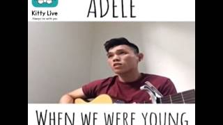 Adele - When We Were Young (Cover) / VJ Thomas Kitty Live