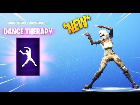 *NEW* FORTNITE  DANCE THERAPY DANCE/EMOTE!