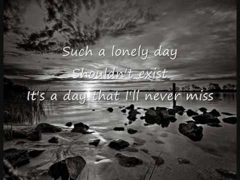 System Of A Down-Lonely Day lyrics - YouTube