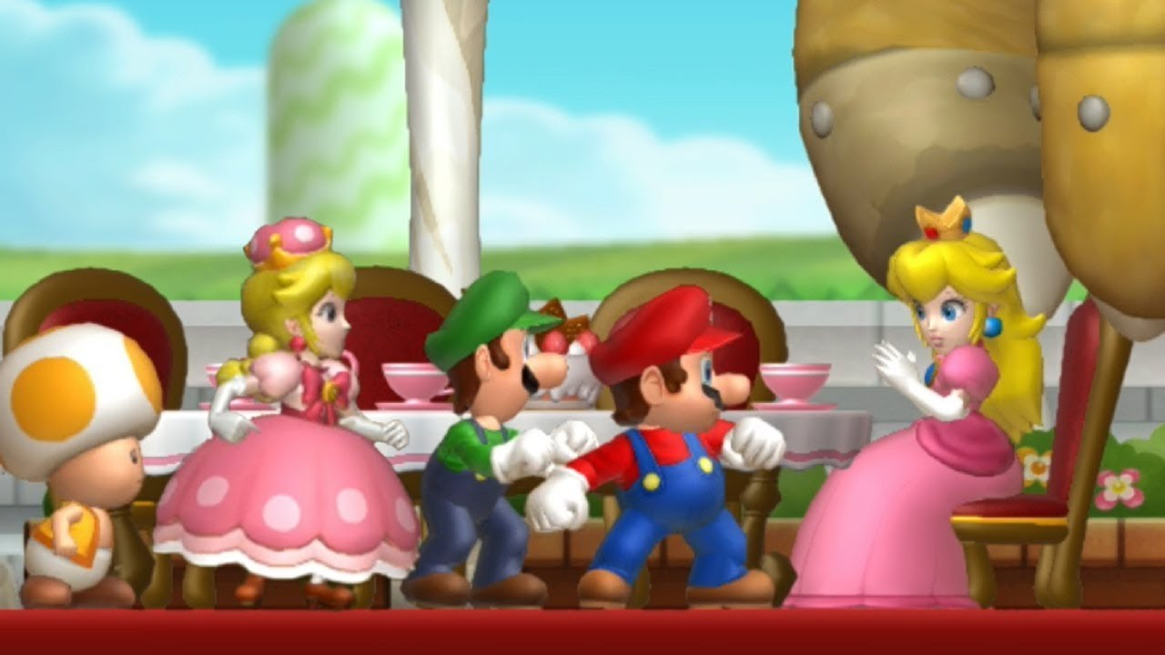 New Super Mario Bros U Deluxe Walkthrough Part 1 Acorn Plains