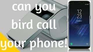 Whistle to find phone! Can you?