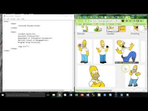Web Module 1 HTML Intro, H1, Br, Img, A, Ol, Ul, Li