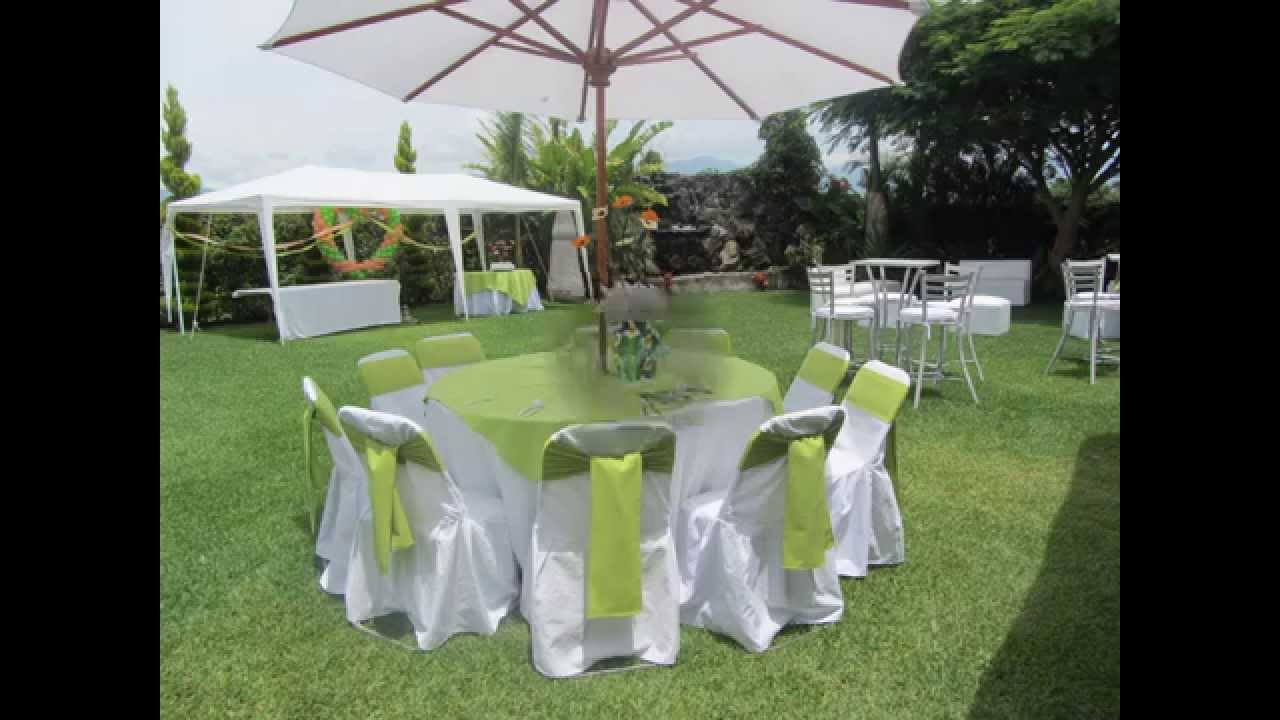 Jardin de eventos golden rain youtube for Jardines pequenos para eventos df