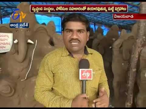 Buying Eco Friendly Ganesh Idols   People Shows Interest   in Vijayawada