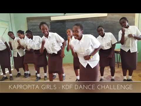 kapropita Girls KDF Dance Challenge