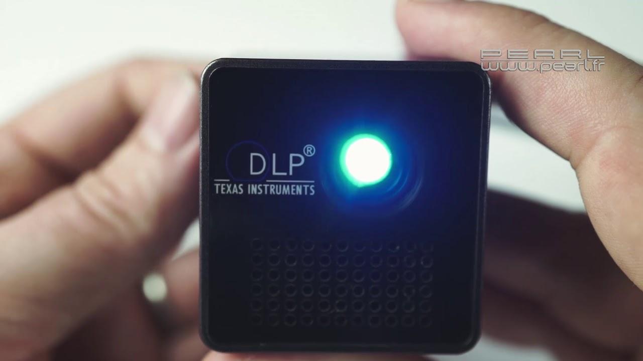 Videoprojecteur Avec Tuner Tv mini projecteur video led dlp - vidéoprojecteur de poche - [pearltv.fr]