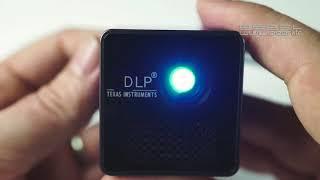 MINI PROJECTEUR VIDEO LED DLP - vidéoprojecteur de poche - [PEARLTV.FR]
