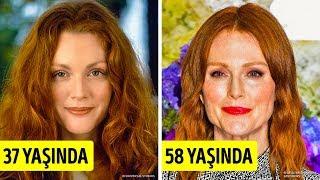 50 yaş kadın resmi