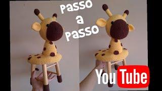 Amigurumi de Crochê Girafa Gigi (Médio) (com imagens) | Amigurumi ... | 180x320