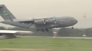 Dny NATO 2018 - přílet C-17