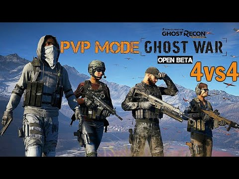 4v4 PvP Mode Ghost Recon Wildlands: Ghost War Multiplayer PS4 Pro (BETA)