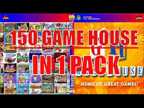 SHARING: 150 GAME HOUSE FOR PC COLLECTION