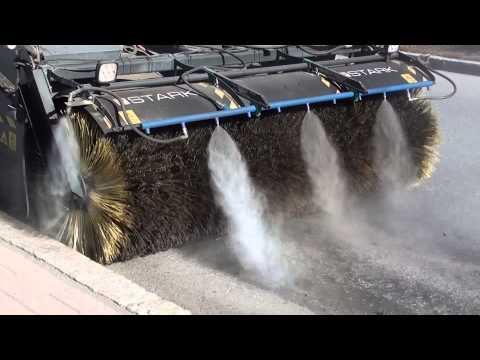 DYNASET HPW-DUST - Street cleaning without dust emissions