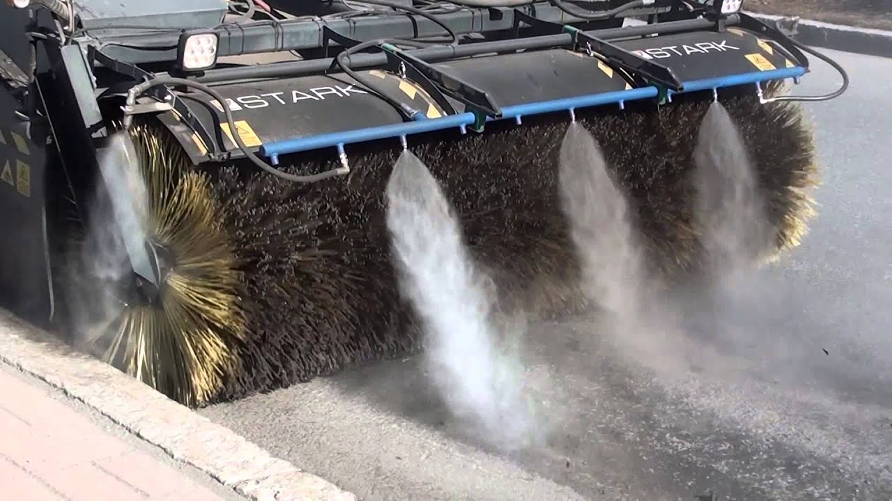 DYNASET HPW-<b>DUST</b> - Street cleaning without <b>dust</b> emissions ...