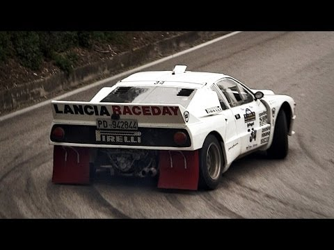 Lancia Rally 037 Group B Pure Sound – Warm Up, Accelerations & More