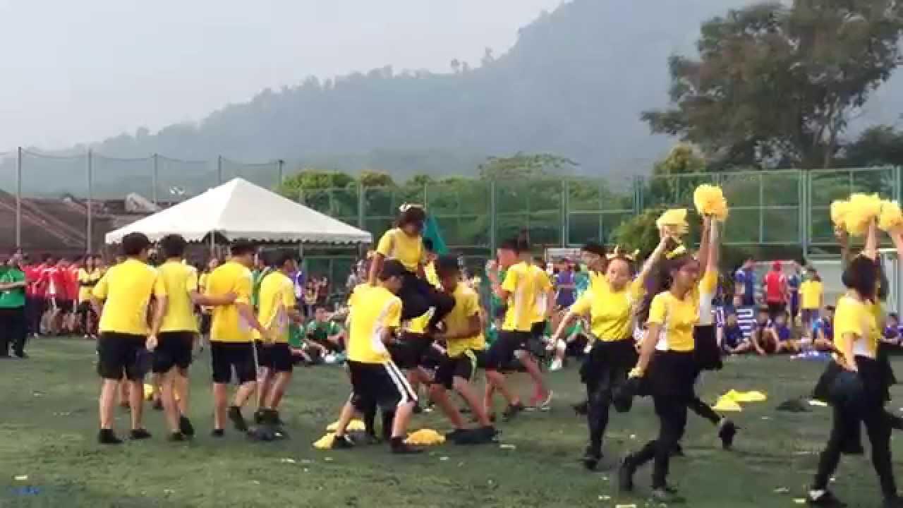 sekolah seri suria yellow house cheerleading 2015 . - youtube