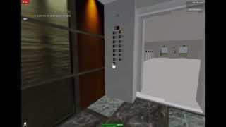 Dover Traction Glass Elevators at [SRA] New Offices and Meeting Area on Roblox