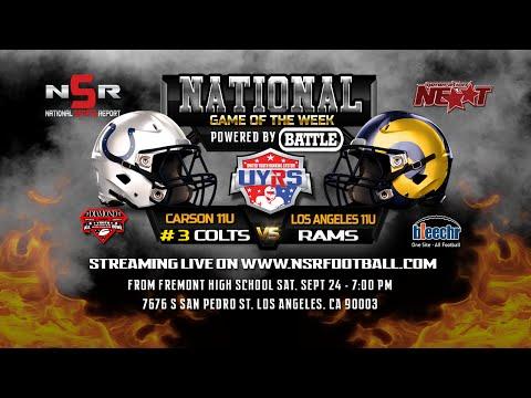 Game of the Week - 11U Carson Colts Vs 11U LA Rams