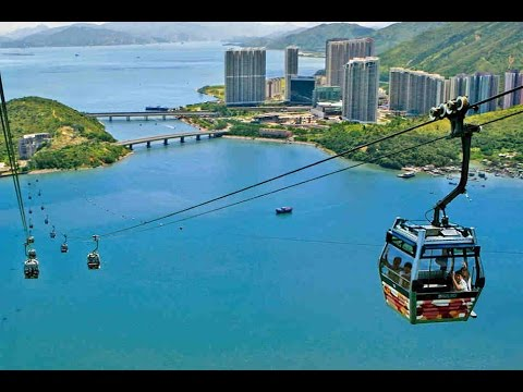 Cable Car Engineering - The World's Most Biggest Cable Car (Ngong Ping 360) Mega Construction
