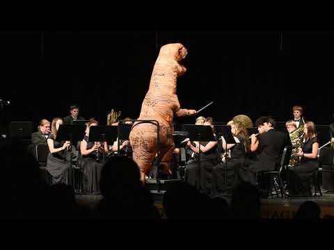 Jurassic park- Taylor High School Band 2018
