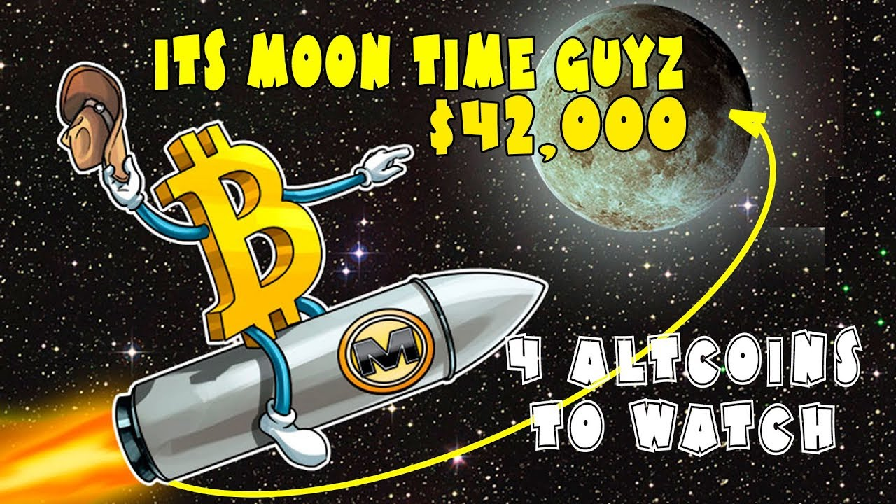 Bitcoin Parabolic Move Confirmed – It's MOON Time Guyz. 4 Must Watch Altcoins in this BTC Bull Rally