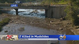 Search And Rescue Teams Continue To Search For Survivors In Montecito thumbnail