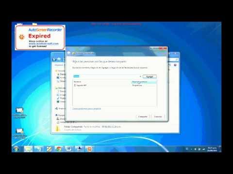 Compartir En Red Archivos Y Carpetas Windows 7