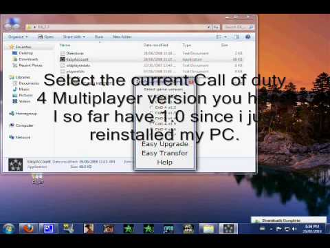 How to rank hack call of duty 4 pc youtube