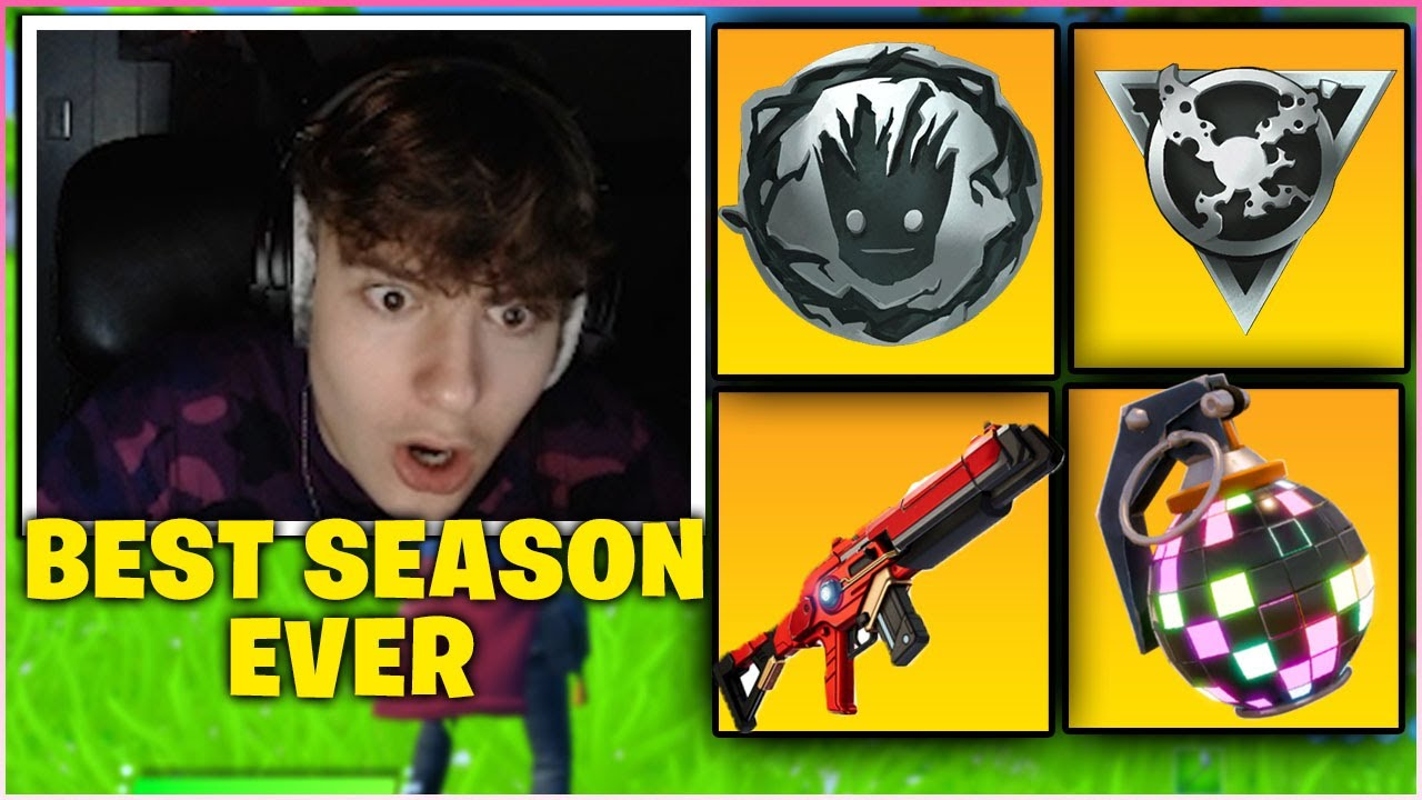 CLIX *FREAKS OUT* After USING ALL MYTHIC WEAPONS  Fortnite Season 4! (First Victory Royale)