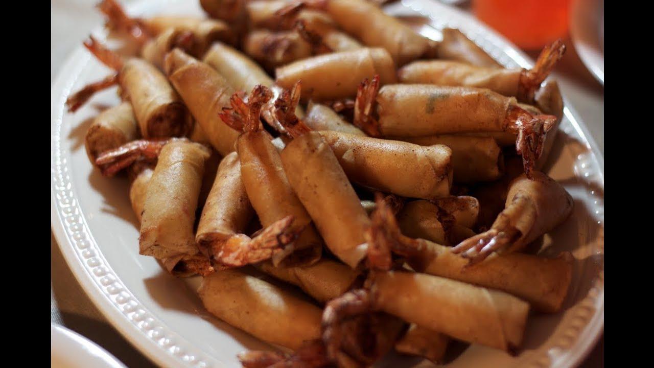 Shrimp egg rolls recipe youtube shrimp egg rolls recipe forumfinder Choice Image
