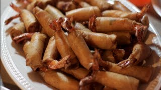 Shrimp Egg Rolls recipe