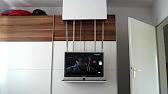 Schiebetürenschrank mit integriertem TV bei Möbel Schaller - YouTube