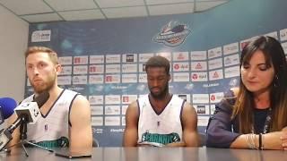 Basket : la réaction de Mickey McConnell après Elan Béarnais - Le Portel