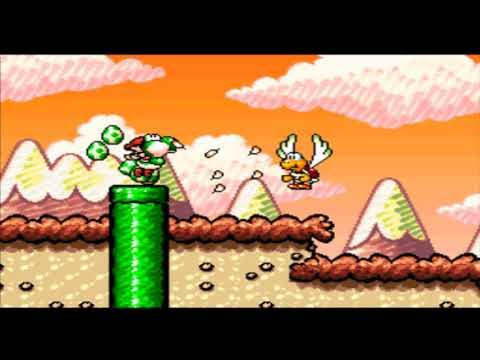 Yoshi's Island 4-1 GO! GO! MARIO!!