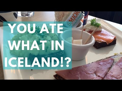 You ate WHAT in Iceland!?  ...and some other stuff | RYAN ROOTS