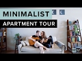minimalist apartment tour minimal millennials
