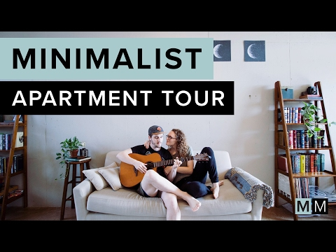 MINIMALIST APARTMENT TOUR | minimal millennials