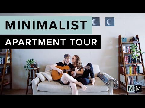 MINIMALIST APARTMENT TOUR | minimal millennials