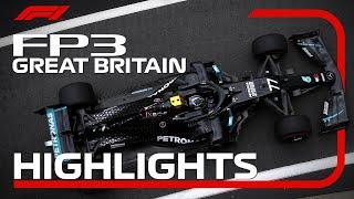 2020 British Grand Prix: FP3 Highlights