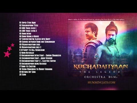 Kochadaiiyaan Orchestra BGMs | An A.R.Rahman Musical | Hummingjays.com