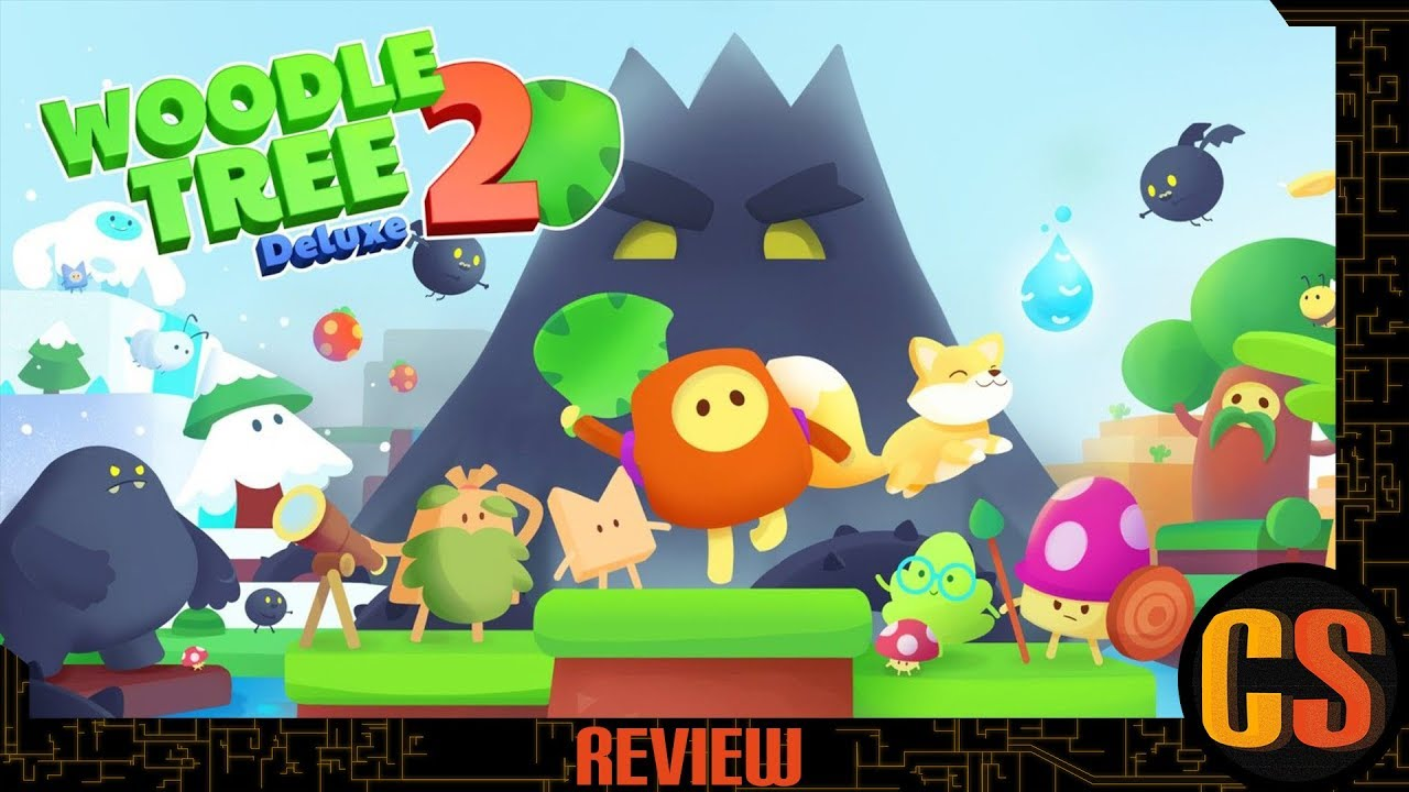 WOODLE TREE 2 DELUXE - PS4 REVIEW (Video Game Video Review)