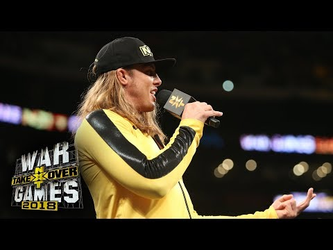 Matt Riddle calls out Kassius Ohno: NXT Takeover: WarGames II (WWE Network Exclusive)