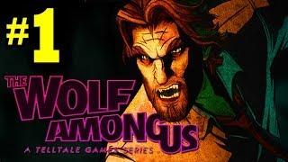 "THE WOLF AMONG US: Walkthrough Part 1 Episode 1 FAITH [HD] ""The Wolf Among Us Gameplay Part 1"""