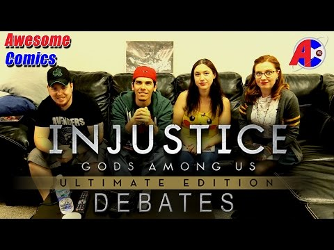 Injustice Debates - Awesome Comics