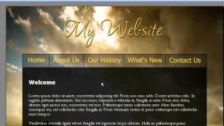 How to have a fixed background with scrolling content in Web Easy