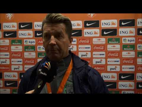 20171128 Interview with Collin Bell trainer of Ireland Republic after the 0 0 in and against the Net